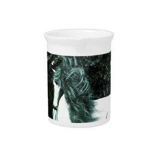 Unicorn in the Deep Woods Pitcher