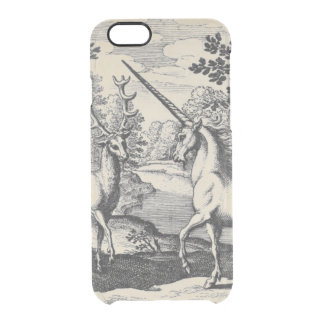 Unicorn in the Forest Clear iPhone 6/6S Case