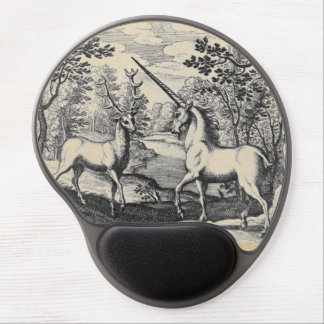 Unicorn in the Forest Gel Mouse Pad