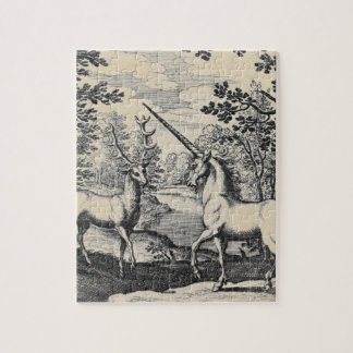 Unicorn in the Forest Jigsaw Puzzle