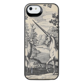 Unicorn in the Forest Uncommon Power Gallery™ iPhone 5 Battery Case