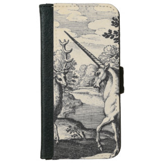 Unicorn in the Forest Wallet Phone Case For iPhone 6/6s