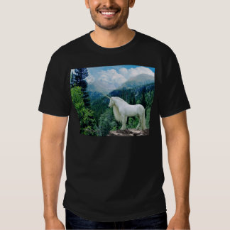 Unicorn In The Mountains T Shirt