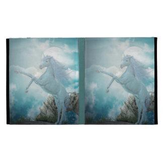 unicorn iPad folio case