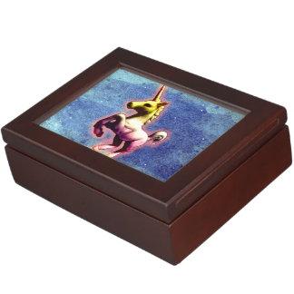 Unicorn Keepsake Box (Galaxy Shimmer)