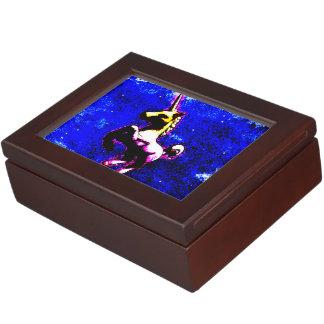 Unicorn Keepsake Box (Punk Cupcake)