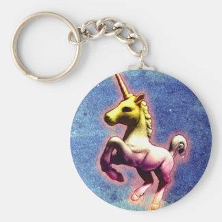 Unicorn Key Chain (Galaxy Shimmer)