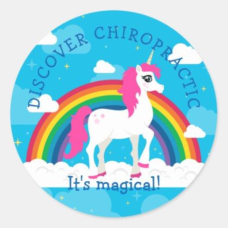 Unicorn Kids Chiropractic Stickers