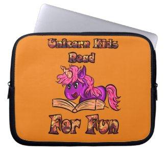 Unicorn Kids Read For Fun Book Sleeve