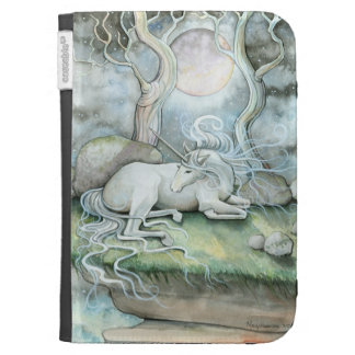Unicorn Kindle Case by Molly Harrison