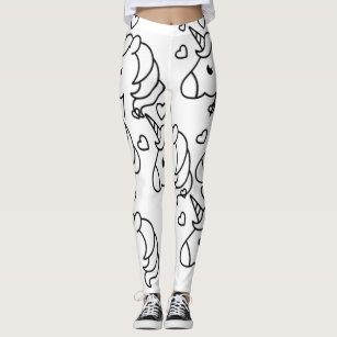 01e6dd9ac0994 Women's Girly Girl Leggings | Zazzle