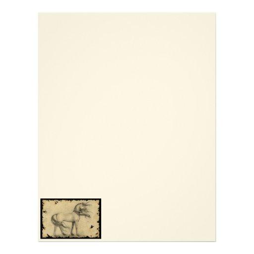 Unicorn Letterhead Design