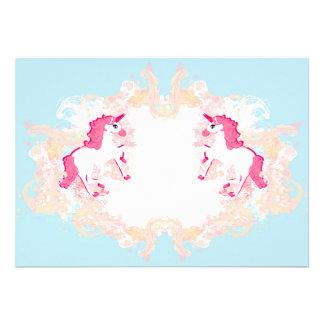 unicorn logo Invitation