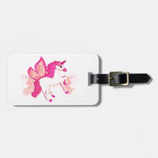 unicorn logo Luggage Tag
