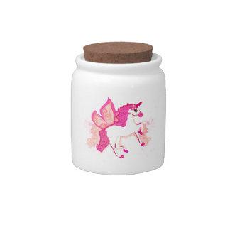 unicorn logo Sweet Jar Candy Jars