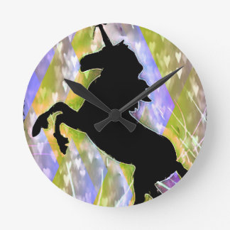 Unicorn Love Clock by Carol Zeock.