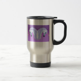 Unicorn love coffee mug