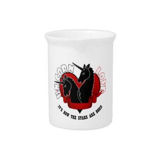 Unicorn love beverage pitchers