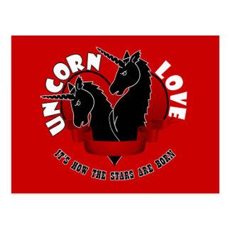 Unicorn Love Post Card