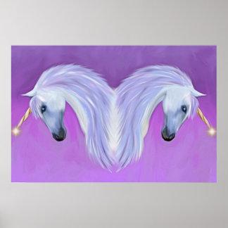 unicorn love posters