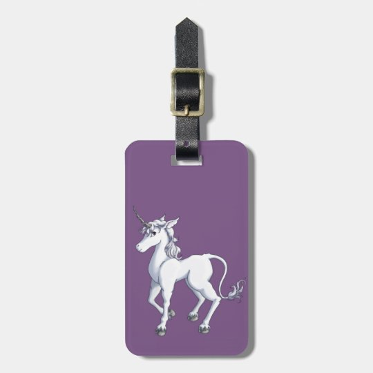 65027ed50f87 Unicorn Luggage Tag