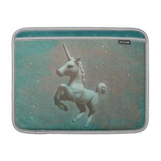 Unicorn Macbook Air Sleeve (Teal Steel)