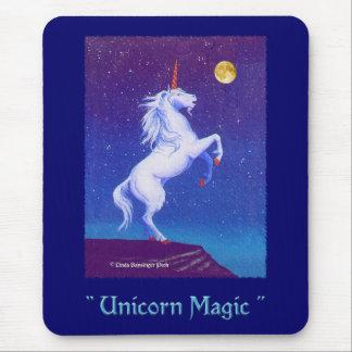 Unicorn Magic Blue Mouse Pad