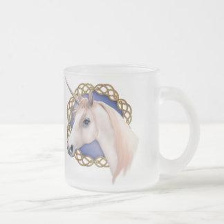 Unicorn Magic Frosted Glass Coffee Mug
