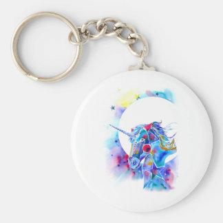 Unicorn Magic Keyring Basic Round Button Keychain