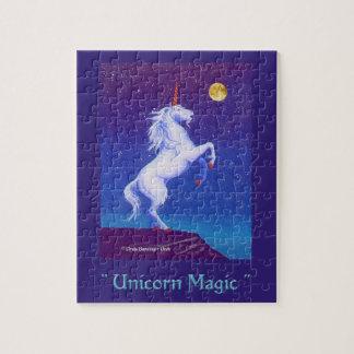 Unicorn Magic Nocturne Jigsaw Puzzle