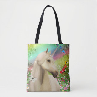 Unicorn Magic Rainbow Tote Bag