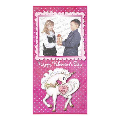 Unicorn Magic Valentine Card