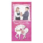Unicorn Magic Valentine Photo Cards