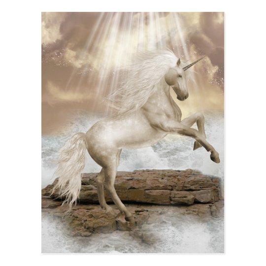 Unicorn Magical Beauty Postcard