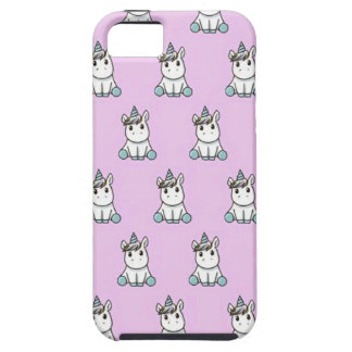 Unicorn marries with pink background iPhone SE/5/5s case