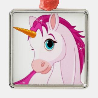 Unicorn Metal Ornament