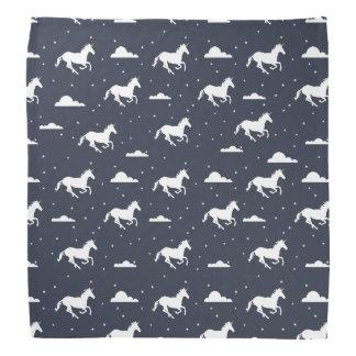 Unicorn Midnight Sky Pattern Bandana