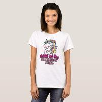 Unicorn Mom of the Birthday Girl T-shirt