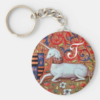 UNICORN MONOGRAM KEYCHAIN