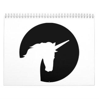 Unicorn moon calendar