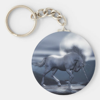 Unicorn Moon Key Chain