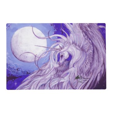 pegacorna Unicorn Moon Placemat