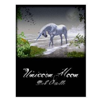 Unicorn Moon Postcard