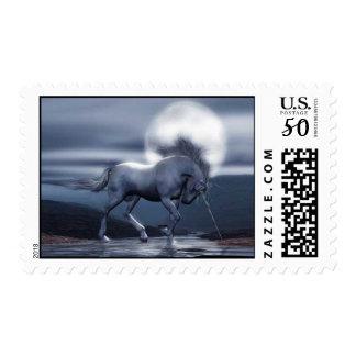 Unicorn Moon Stamp