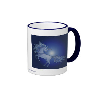 Unicorn Ringer Coffee Mug