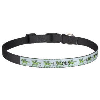 Unicorn Name Collar Custom Plant Personalizeable
