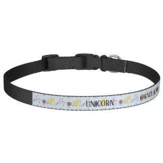 Unicorn Name Collar Griffon Celtic Personalizeable