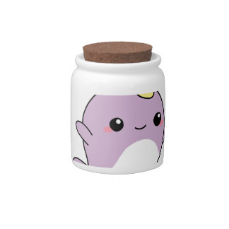 UNICORN NARWHAL shirts, accessories, gifts Candy Dishes
