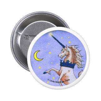 Unicorn Night Pin