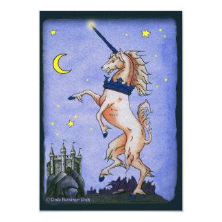 Unicorn Night Custom Invites